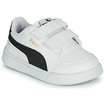 Παπούτσια Παιδί Χαμηλά Sneakers Puma SHUFFLE INF Άσπρο / Black