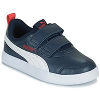 Παπούτσια Αγόρι Χαμηλά Sneakers Puma COURTFLEX PS Black