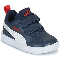 Παπούτσια Παιδί Χαμηλά Sneakers Puma COURTFLEX INF Μπλέ