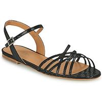 Παπούτσια Γυναίκα Σανδάλια / Πέδιλα Emma Go SASKIA Black