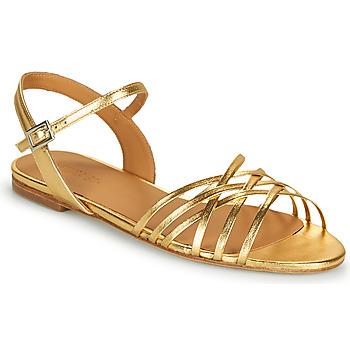 Παπούτσια Γυναίκα Σανδάλια / Πέδιλα Emma Go SASKIA Gold