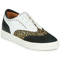 Παπούτσια Γυναίκα Χαμηλά Sneakers Mam'Zelle ALIBI Άσπρο / Gold