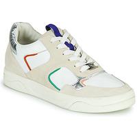 Παπούτσια Γυναίκα Χαμηλά Sneakers Mam'Zelle ARTIX Άσπρο / Multicolour