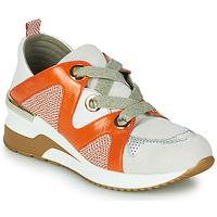 Παπούτσια Γυναίκα Χαμηλά Sneakers Mam'Zelle VELODE Beige / Orange