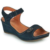 Παπούτσια Γυναίκα Σανδάλια / Πέδιλα Mam'Zelle DARDA Μπλέ