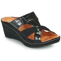 Παπούτσια Γυναίκα Τσόκαρα Mam'Zelle DINAMO Black