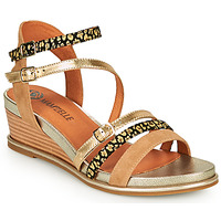 Παπούτσια Γυναίκα Σανδάλια / Πέδιλα Mam'Zelle NAGA Beige / Orange