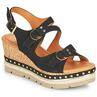 Παπούτσια Γυναίκα Σανδάλια / Πέδιλα Mam'Zelle PAPOTE Black