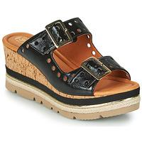 Παπούτσια Γυναίκα Τσόκαρα Mam'Zelle PULSE Black