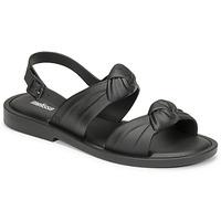 Παπούτσια Γυναίκα Σανδάλια / Πέδιλα Melissa VELVET SANDAL AD Black