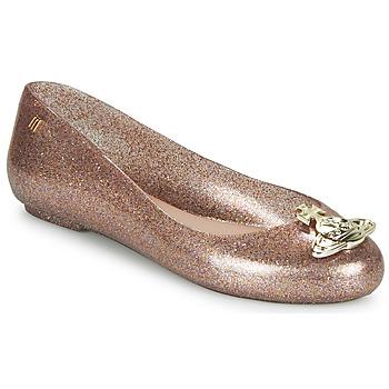 Παπούτσια Γυναίκα Μπαλαρίνες Melissa VIVIENNE WESTWOOD ANGLOMANIA - SWEET LOVE II Ροζ