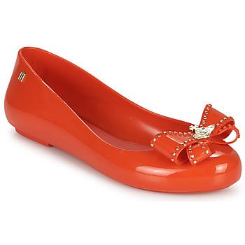 Παπούτσια Γυναίκα Μπαλαρίνες Melissa VIVIENNE WESTWOOD ANGLOMANIA - SWEET LOVE II Red