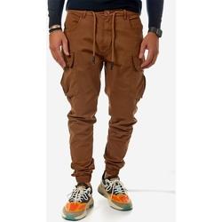 Υφασμάτινα Άνδρας παντελόνι παραλλαγής Brokers ΑΝΔΡΙΚΟ ΠΑΝΤΕΛΟΝΙ ΒΑΜΒΑΚΕΡΟ ΚΑΜΗΛΟ