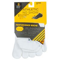 Αξεσουάρ Αθλητικές κάλτσες  Vibram Fivefingers ATHLETIC NO SHOW Άσπρο