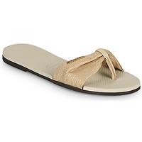 Παπούτσια Γυναίκα Σαγιονάρες Havaianas YOU ST TROPEZ SHINE Beige