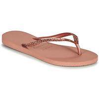 Παπούτσια Γυναίκα Σαγιονάρες Havaianas SLIM GLITTER II Ροζ
