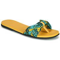 Παπούτσια Γυναίκα Σαγιονάρες Havaianas YOU SAINT TROPEZ Yellow / Gold