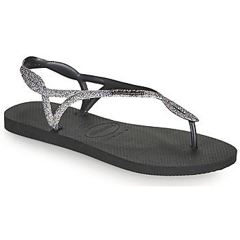Παπούτσια Γυναίκα Σαγιονάρες Havaianas LUNA PREMIUM II Black / Grey