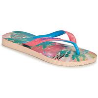 Παπούτσια Γυναίκα Σαγιονάρες Havaianas TOP FASHION Ροζ