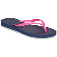 Παπούτσια Γυναίκα Σαγιονάρες Havaianas SLIM LOGO Marine