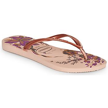 Παπούτσια Γυναίκα Σαγιονάρες Havaianas SLIM ORGANIC Ροζ