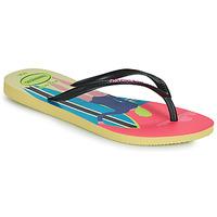 Παπούτσια Γυναίκα Σαγιονάρες Havaianas SLIM STYLE MIX Yellow