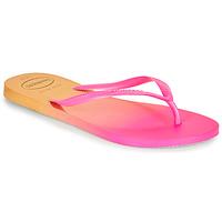 Παπούτσια Γυναίκα Σαγιονάρες Havaianas SLIM GRADIENT Ροζ / Yellow