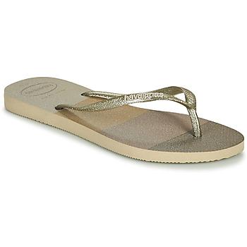 Παπούτσια Γυναίκα Σαγιονάρες Havaianas SLIM PALETTE GLOW Beige