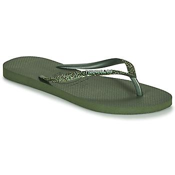 Παπούτσια Γυναίκα Σαγιονάρες Havaianas SLIM GLITTER II Green