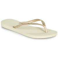 Παπούτσια Γυναίκα Σαγιονάρες Havaianas SLIM GLITTER II Beige