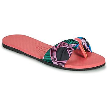 Παπούτσια Γυναίκα Σαγιονάρες Havaianas YOU SAINT TROPEZ Ροζ