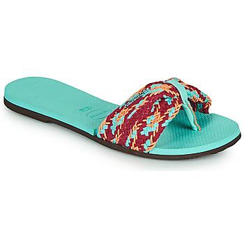 Παπούτσια Γυναίκα Σαγιονάρες Havaianas YOU ST TROPEZ MESH Μπλέ
