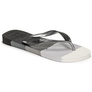 Παπούτσια Σαγιονάρες Havaianas TOP LOGOMANIA MULTICOLOR Black
