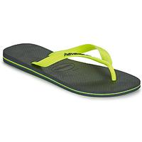 Παπούτσια Άνδρας Σαγιονάρες Havaianas BRASIL LOGO Grey