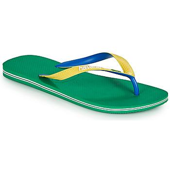 Παπούτσια Σαγιονάρες Havaianas BRASIL MIX Green