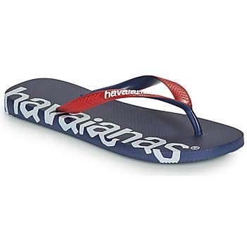 Παπούτσια Σαγιονάρες Havaianas TOP LOGOMANIA HIGHTECH Μπλέ