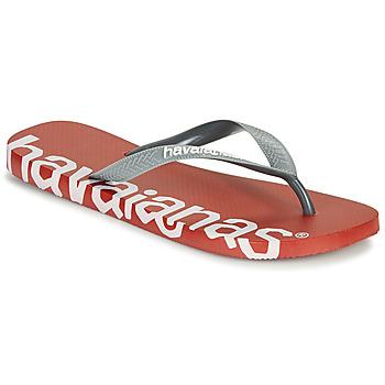 Παπούτσια Σαγιονάρες Havaianas TOP LOGOMANIA HIGHTECH Red