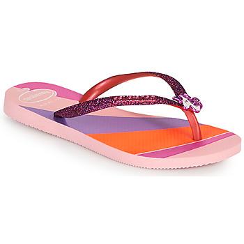 Παπούτσια Κορίτσι Σαγιονάρες Havaianas KIDS SLIM GLITTER II Ροζ