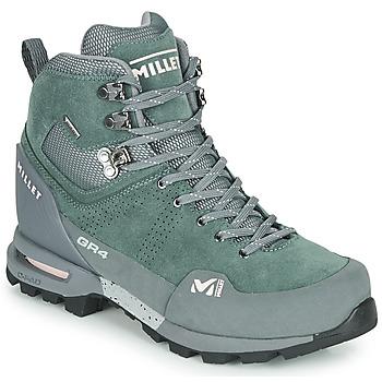 Παπούτσια Γυναίκα Πεζοπορίας Millet GR4 GORETEX Green / Black