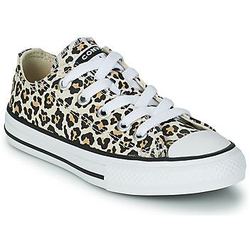 Παπούτσια Κορίτσι Χαμηλά Sneakers Converse CHUCK TAYLOR OX Leopard / Multicolore