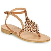 Παπούτσια Γυναίκα Σανδάλια / Πέδιλα Tosca Blu PERLA Camel