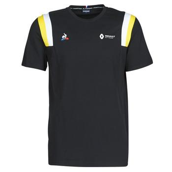 Υφασμάτινα Άνδρας T-shirt με κοντά μανίκια Le Coq Sportif RENAULT FANWEAR 20 Tee SS M Black
