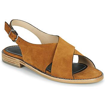 Παπούτσια Γυναίκα Σανδάλια / Πέδιλα Muratti RAVILLOLES Cognac