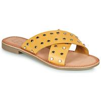 Παπούτσια Γυναίκα Τσόκαρα Les Petites Bombes BELMA Yellow