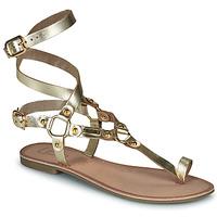 Παπούτσια Γυναίκα Σανδάλια / Πέδιλα Les Petites Bombes BLEONA Gold
