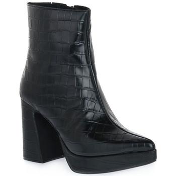 Μποτάκια/Low boots Jeffrey Campbell DORMANT BLACK CROCO