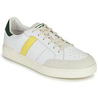 Παπούτσια Άνδρας Χαμηλά Sneakers Serafini WIMBLEDON Άσπρο / Green / Yellow