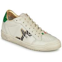 Παπούτσια Γυναίκα Χαμηλά Sneakers Serafini SAN DIEGO Άσπρο / Green