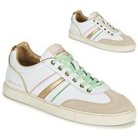 Παπούτσια Γυναίκα Χαμηλά Sneakers Serafini COURT Άσπρο / Gold