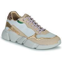 Παπούτσια Γυναίκα Χαμηλά Sneakers Serafini OREGON Άσπρο / Gold